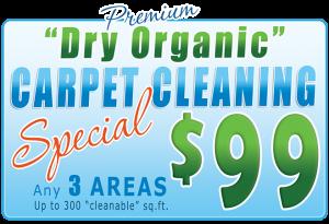 premium dry organic carpet cleaning special - longwood, orlando, lake mary, fl