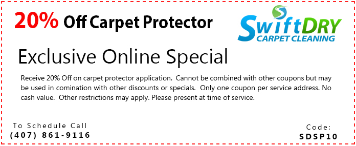carpet cleaning special coupon - orlando fl